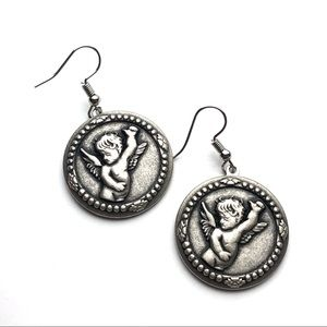 Angel Cherub Earrings